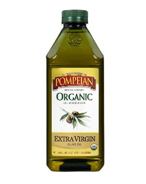 AMAZON: Pompeian Organic Extra Virgin Olive Oil – 48 Ounce $9