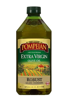 AMAZON: 68 Ounce Pompeian Robust Extra Virgin Olive Oil $10.6