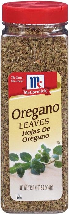 AMAZON: McCormick Mediterranean Style Oregano Leaves 5 Oz For $5.20 Shipped!