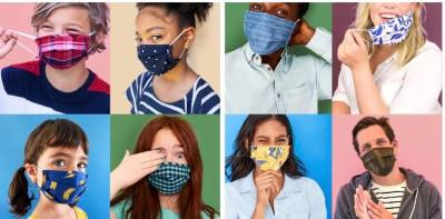 OLD NAVY: Old Navy- 5 pack of masks (adult and children's sizes), $12.50