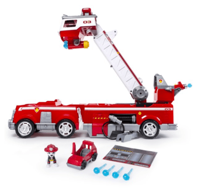 WALMART: PAW Patrol Ultimate Rescue Fire Truck with Extendable 2 ft. Tall Ladder for $39.82 + Free Shipping! (Reg. Price $59.99)