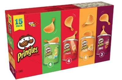 AMAZON: Pringles Potato Crisps Chips, Flavored Variety Pack, 20.6 Ounce – PRICE DROP!