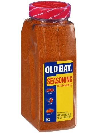 AMAZON: OLD BAY Seasoning, 24 oz $5.98