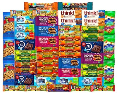 AMAZON: Ultimate Healthy Snacks Bars and Nuts Variety Pack Gift Snack Box