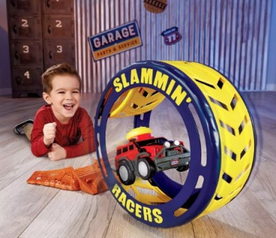 TARGET: Little Tikes Slammin' Racers Turbo Tire Playset and Vehicle with Sounds $12.39