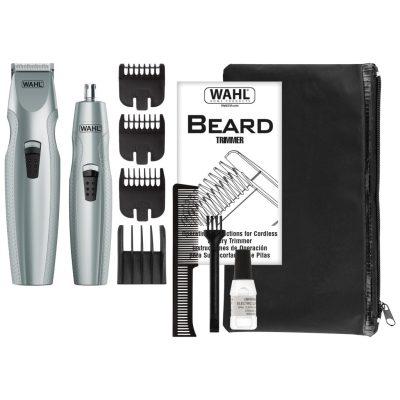 WALMART: Wahl Mustache & Beard Battery Trimmer Kit For $12.46