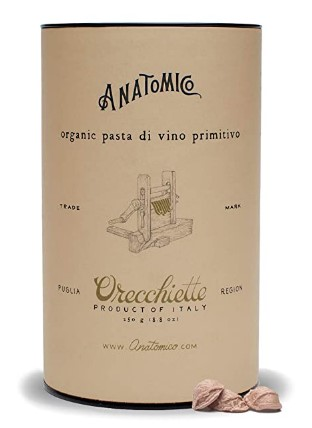 AMAZON: Primitivo Wine Orecchiette, Gourmet Pasta, Italian Pasta, Single Pack (8.8 Ounces) – 80% OFF!
