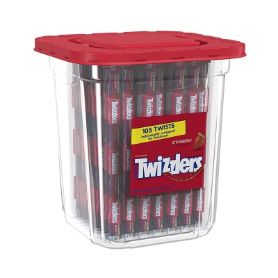 AMAZON: Twizzlers Licorice Candy, Strawberry, 105 Count