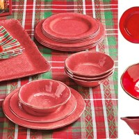 Home Depot : 12-Piece Lanai Melamine Dinnerware Set Just $12 (Reg : $60)