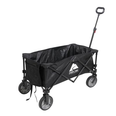 WALMART: Ozark Trail Folding Multipurpose Wagon, Black $44.88