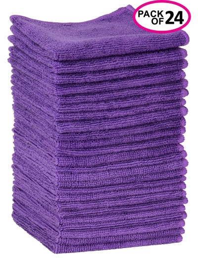 WALMART: Greenco Microfiber Cleaning Cloth 24 Pack For $10.66