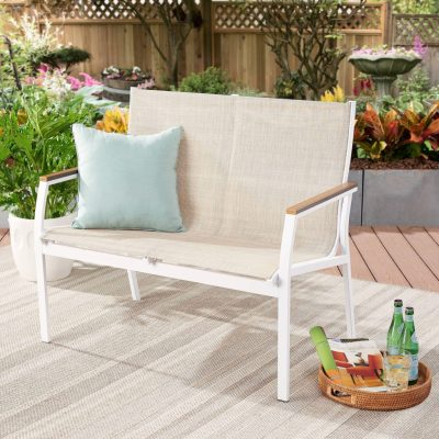 WALMART: Better Homes & Gardens Neuville Patio Sling Mesh Loveseat For $79.9 (Was $126) + Free Shipping