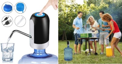 AMAZON: Water Bottle Pump 5 Gallon – Drinking Water Pump for 5 Gallon Bottle $7.94 ($15.9)