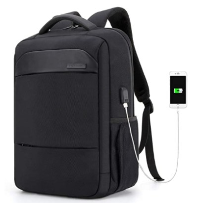 AMAZON: Water Resistant Anti-Theft Bag with USB Charging Port for $13.49 – $22.49 (Reg. Price $26.99 – $44.99)