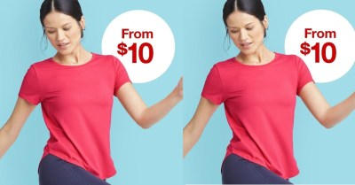 TARGET: SALE!!! Women's Active Wear Starting At $10