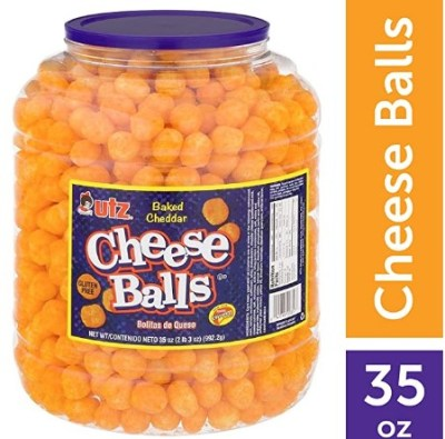 AMAZON: Utz Cheese Balls – 35 Ounce Barrel (2 lbs) Now $6.88 (Was $11.52)