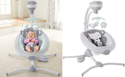 AMAZON: Fisher Price Monkey Cradle ONLY $99 + FREE Shipping (Regularly $160) – GREAT DEAL!