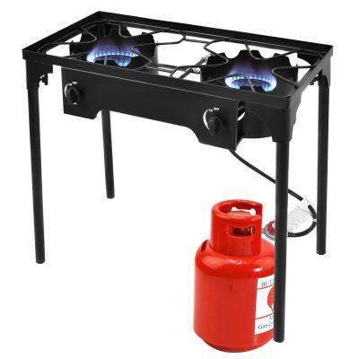 WALMART: Costway Double Burner Gas Propane Cooker Outdoor $109.99 ($159.99)