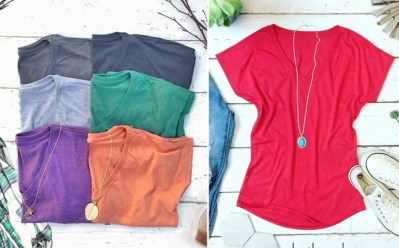 JANE: Soft Layering Tees for ONLY $8.99 (Reg $18)