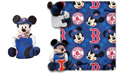 WALMART: Disney Boston Red Sox Hugger Pillow & Throw Set JUST $9.55