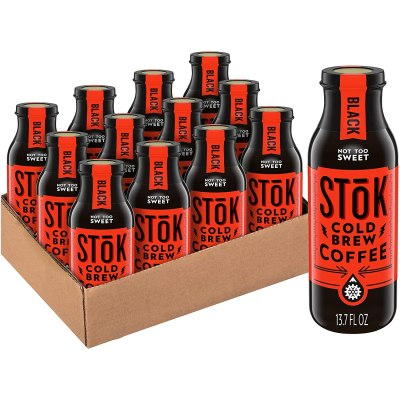 AMAZON: SToK Cold-Brew Coffee, Not Too Sweet, 13.7 oz. Bottle (Pack of 12)