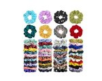 AMAZON: 52Pcs Hair Scrunchies Velvet,Chiffon,Satin for $6.99 Shipped!