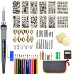 AMAZON: 75Pcs Wood Burning Kit, 30% off code 5SV6RXNS