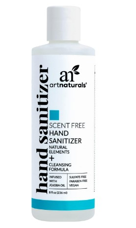 SAM'S CLUB: ArtNaturals Unscented Hand Sanitizer (8 oz.) $3.48