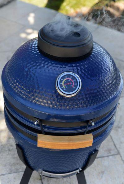 Walmart: Blue Kamado Ceramic Grill Value Bundle Includes Electric Starter Cooking Stone, Just $199.00 (Reg $399.00)