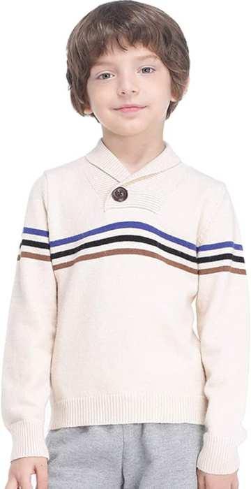 AMAZON: Boys' Sweater Shawl Collar, 80% OFF CODE 807M1ET5