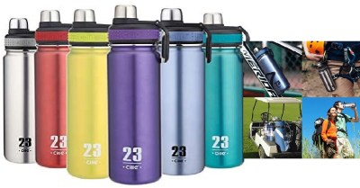 AMAZON: CILLE Water Bottle 24oz Hot Water Bottle Stainless Steel BPA Free Insulated $7.99 ($16)