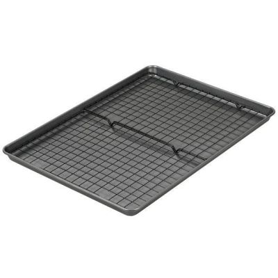 Target: Wilton Mega Cookie Sheet With Two Cooling Racks For $10.00 (Reg. $20)