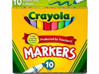 MICHAELS: Crayola® Broad Line Markers For $3.99 (BUY 1 Get 50% OFF On Another Item Selected) + Store Pickup!