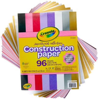 AMAZON: Crayola Construction Paper, Colored & Metallic Sheets, 96 COUNT, JUST $3.99