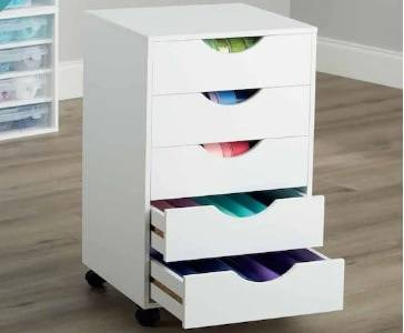 MICHAELS: Modular Mobile Chest By Simply Tidy™ For $59.99 (Was $120) + FREE Shipping!