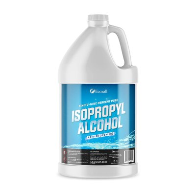 AMAZON: Ecoxall Chemicals - 99.9% Pure Isopropyl Alcohol - 1 Gallon Jug - 128 Fluid Ounces