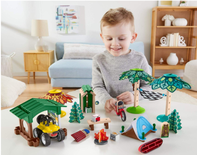AMAZON: Fisher-Price Wonder Makers Design System Soft Slumber Campground Only $14.31 (Reg. $30)