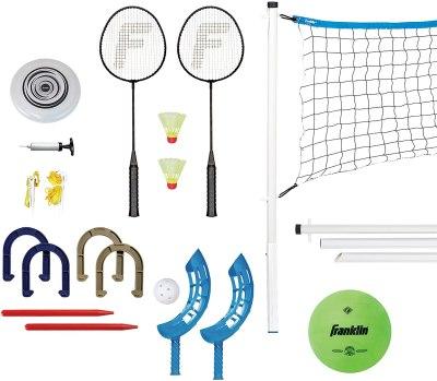 AMAZON: Franklin Sports Combo Set - Badminton, Volleyball, Flip Toss, Horseshoes, Flying Disc, JUST $33.94 (REG $41.99)