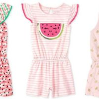 The Children's Place : Girls Rompers Starting At Just $3.99 (Reg $20) + FREE Shipping.