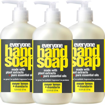 Walmart: (3 Pack) Everyone Liquid Hand Soap, Triclosan-Free Set For $10.32