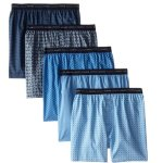 AMAZON: Hanes Men's 5-Pack Printed Woven Exposed Waistband Boxers for $9.00 Shipped! (Reg. Price $17.99)