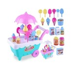 AMAZON: Dickin 16/19Pcs Ice Cream Trolley Toy Set for Kids Toddlers w/ Music & Light $8.99 ($45) Shipped