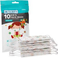 AMAZON: 10-Pack Nuby Dr. Talbot's Disposable Kids Girl Face Mask For $9.92 + Free Prime Shipping