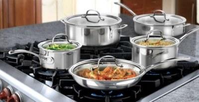 Woot: Calphalon 10-Piece Tri-Ply Cookware Set ONLY $152.99 (Reg $206)