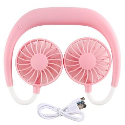 Walmart: Neckband Lazy Fan, Adjustable Wearable Fan USB Charging $13.59 (Was 39.99)