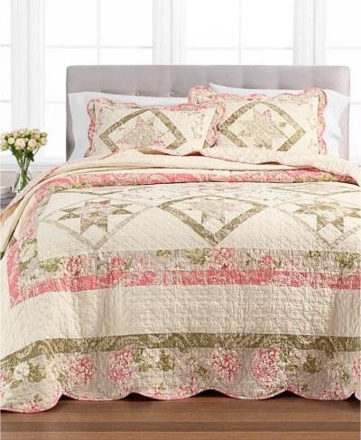 MACY'S: Star Patchwork Twin Bedspread $55.99 (Reg. $160.00)