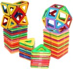 AMAZON: Magnetic Building Blocks Set, Magnetic Toys Magnets for Kids or Toddlers, JUST $16.20 WITH MULTI-USE CODE K3TVLMWC