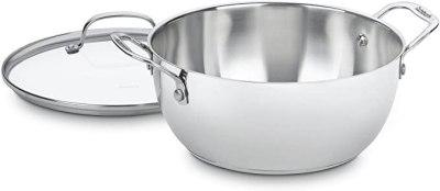 AMAZON: Cuisinart 755-26GD 5-1/2-Quart Multi-Purpose Pot With Glass Cover For $17.69 (Reg $35)