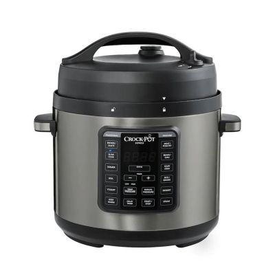 KOHL'S: Crock-Pot Express 6-qt. Black Stainless Pressure Cooker $39.99 (Reg $119.99) WITH CODE GOSAVE