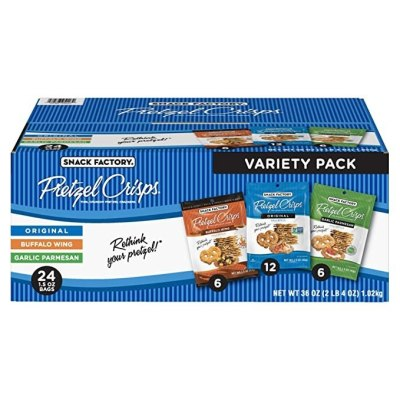 AMAZON: Snack Factory Pretzel Crisps Variety Pack For $13.28 Shipped.